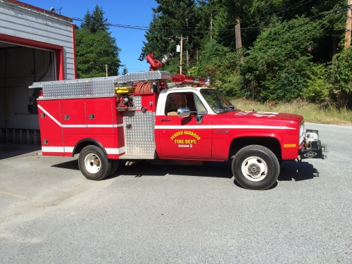 pender harbour fire engine 3